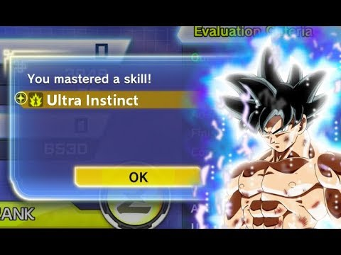 Ultra Instinct Dragonball Xenoverse 2