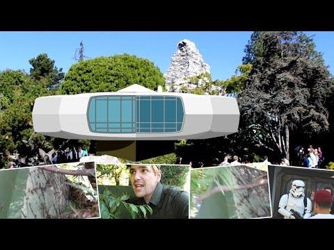 Secret remains of the House of the Future at Disneyland - Randomland!