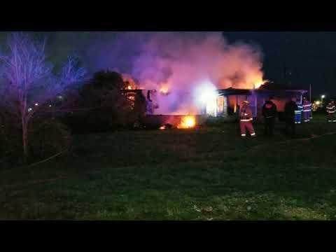 WPFD Easter Morning Fire