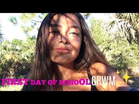 GET READY WITH ME FIRST DAY OF HIGH SCHOOL: Junior year
