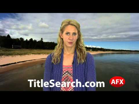 Property title records in Benzie County Michigan   AFX