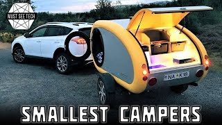 TOP 7 Smallest Campers and Mini Recreational Vehicles that You Can Afford