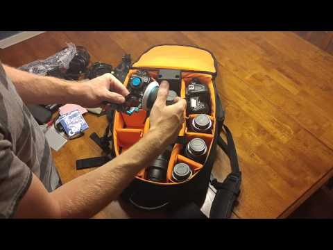 What's in my camera bag? (Amazon Basics Backpack)