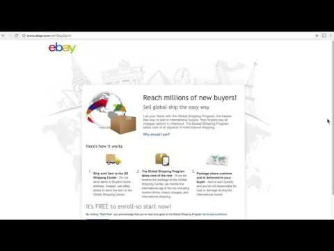 ebay | How To | The Global Shipping Program: How To Make Your Listings Eligible