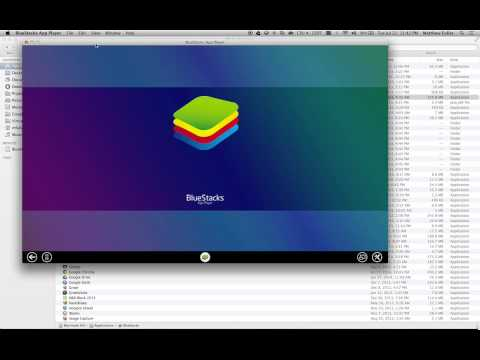 Run Android Apps on Mac OS X Using Bluestacks
