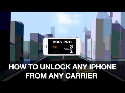 How to unlock any iPhone from any carrier with MAS PRO SIM. Sprint, AT&T, T-Mobile (2017)