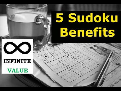 5 Sudoku Benefits