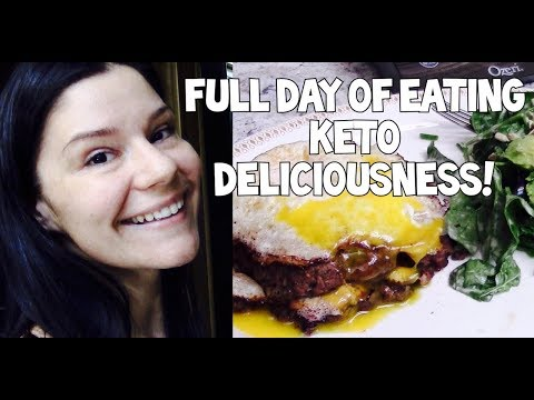 Tracking MACROS for Weight Loss | Keto Diet | Full Day of Eating Using My Fitness Pal