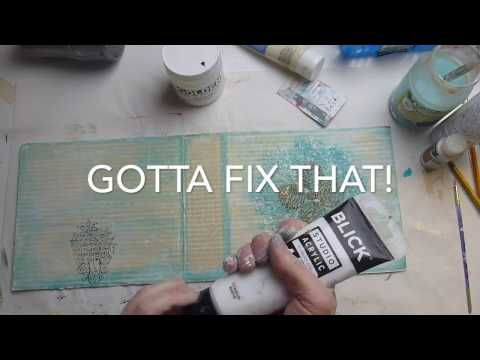 How to: Upcycle Cardboard into Art - Creative Team Thursday with  Denise Alloca