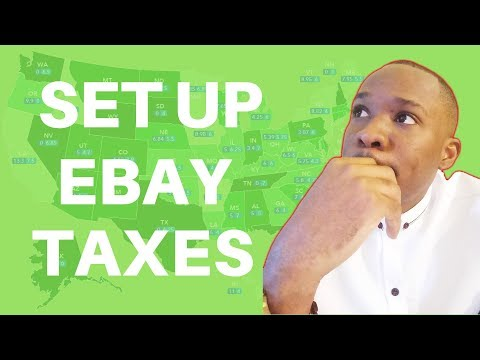 How to Set Up & Charge US Sales Taxes on eBay When Dropshipping