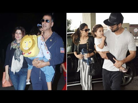 Shahid Kapoor and Akshay Kumar jet off to spend quality time with family