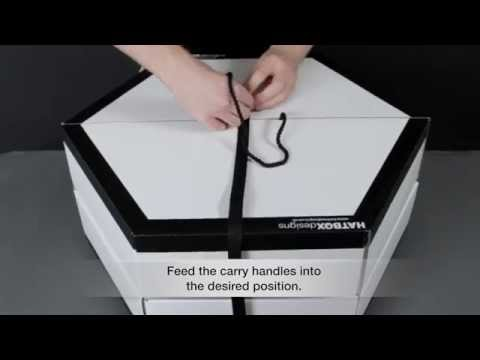 How to Assemble our Travel Hat Box