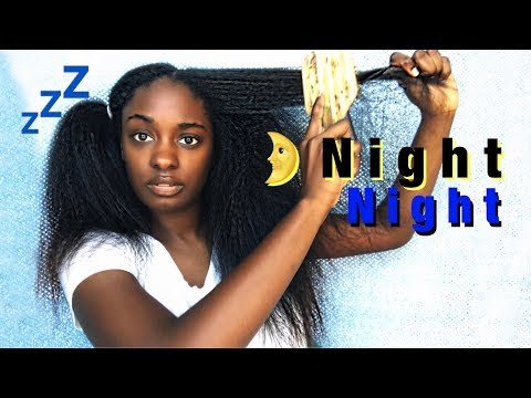 How to PROTECT Your Hair at Night + Night Time Routine | alexuscrown