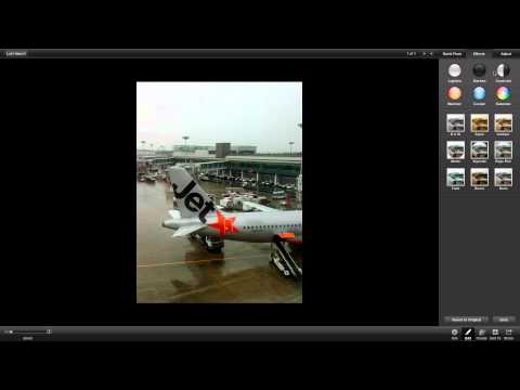 How to Edit Photos Using iPhoto