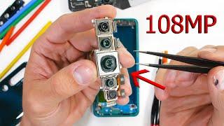 Cheap Xiaomi 108mp Camera vs The S20 Ultra? - TEARDOWN!