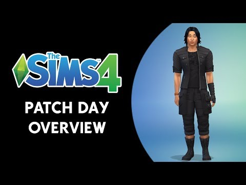 The Sims 4 Patch Day Video Overview! (NEW OUTFIT & FIXES!)