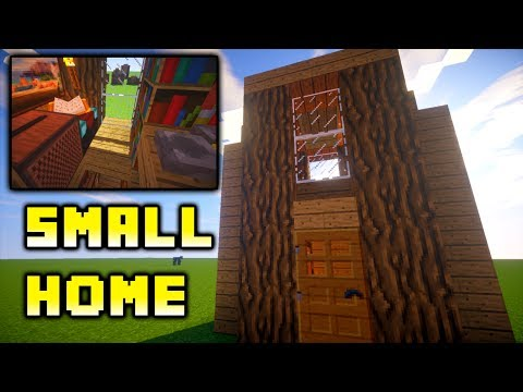 Minecraft: How to Build: Easy Small House Ideas Tutorial Xbox/PS4/PE/PC