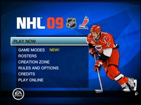 Hockey Game History - NHL 09