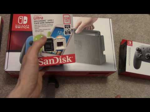 How to insert Micro SDXC Card into Nintendo Switch