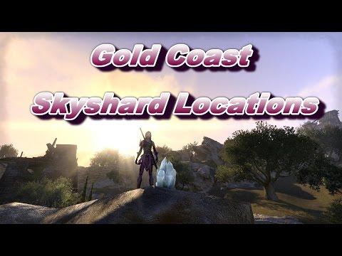 ESO:  Gold Coast Skyshard Locations