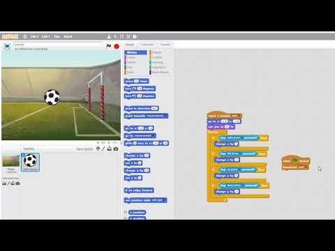 A soccer game in Scratch... He Shoots he Scooooorrreessss!