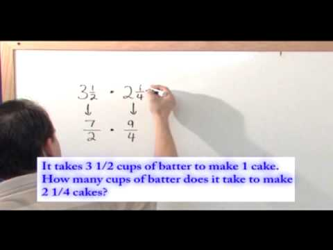 Multiplying Fractions - Math Word Problem