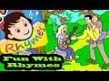 fun With Rhymes Hindi Nursery Rhymes Kids Station Kids Fun Masti
