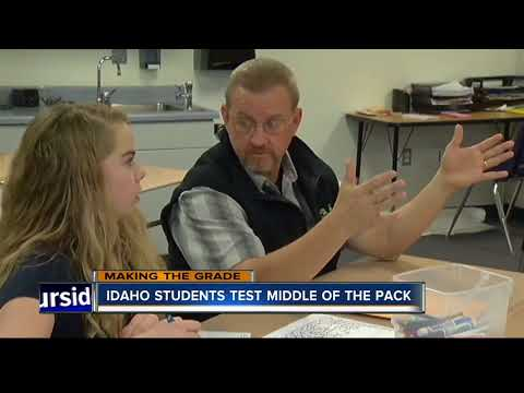 National study finds Idaho students testing at national average