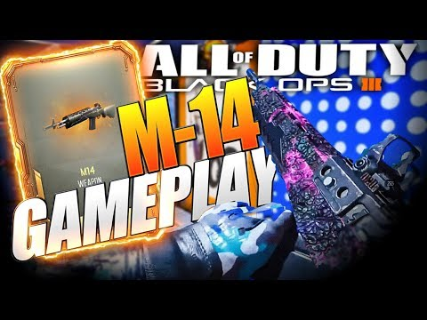 Black Ops 3 NEW M14 Gameplay! BO3 NEW DLC Weapons!
