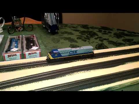 Model Railroad - NCE DCC - Kato AC4400CW