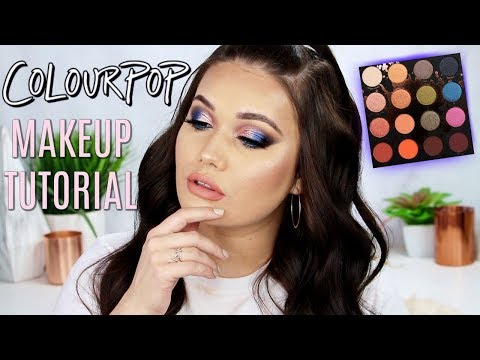 COLOURPOP Perception Palette Makeup Tutorial