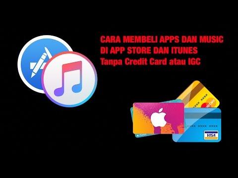 CARA MUDAH BELI APPS DAN MUSIC DI IPHONE DAN IPAD TANPA CREDIT CARD ATAU IGC (iTunes Gift Card)