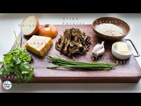 Risotto Porcini Mushrooms | Risotto Funghi Porcini