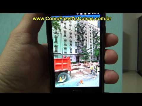 Como usar o modo de bússola no street view do Maps em seu celular Android