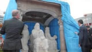 Greats Iranian Statue in Vienna !تندیس نوابغ ایران در وین