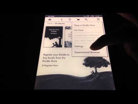 How To Change Your Password on Amazon Kindle Paperwhite
