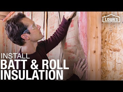 How to Install Batt and Roll Insulation