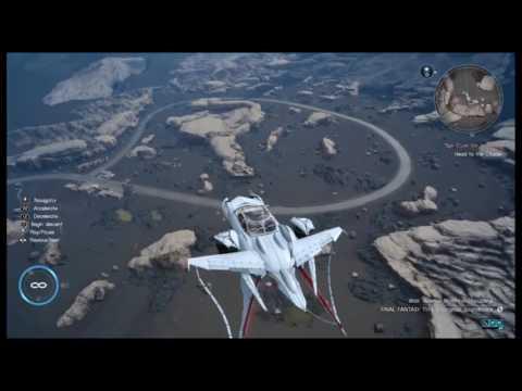 Most Epic Landing in the Regalia (FFXV)