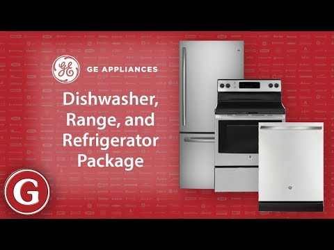 GE Three Piece Stainless Steel Package