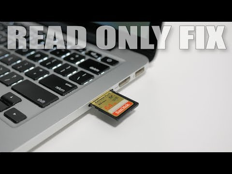 MacBook Pro SD Card Read Only Problem Solved