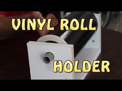 DIY Vinyl Roller Holder for Silhouette Cameo