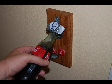 How to Make a Bottle Opener with Magnetic Catch (woodlogger.com)
