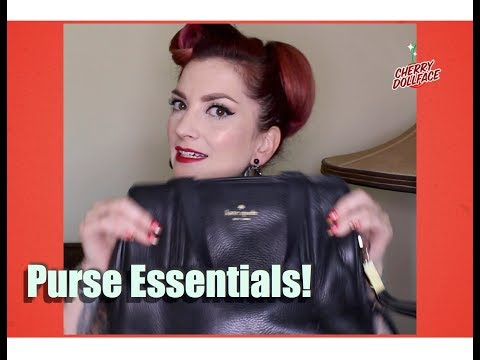Essentials You Should Always Carry in Your Purse! by CHERRY DOLLFACE