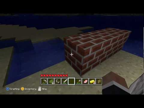 How to find clay and make bricks(Xbox On Minecraft)