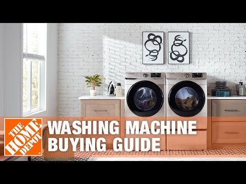 Types of Washing Machines - Washing Machine Buying Guide