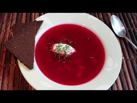 Beef Borscht Recipe - How to Make Beef and Beet Soup