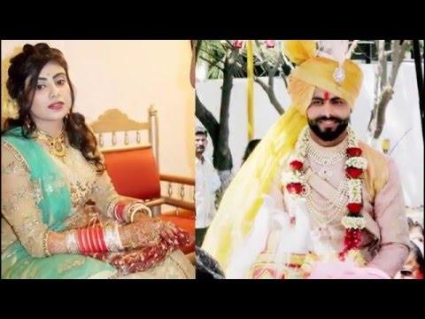 Ravindra jadeja - engagement to marriage with rivaba solanki