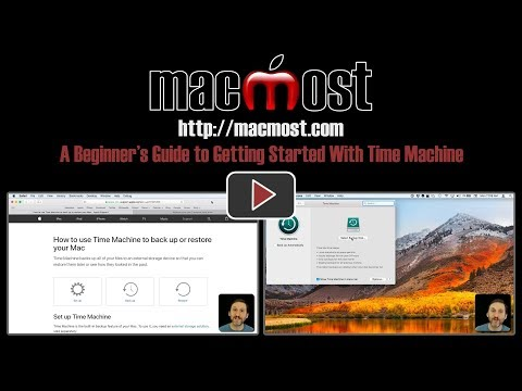 A Beginner's Guide to Getting Started With Time Machine (#1586)