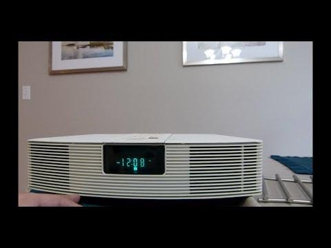 Bose wave radio AWR1-1W unbox and setup