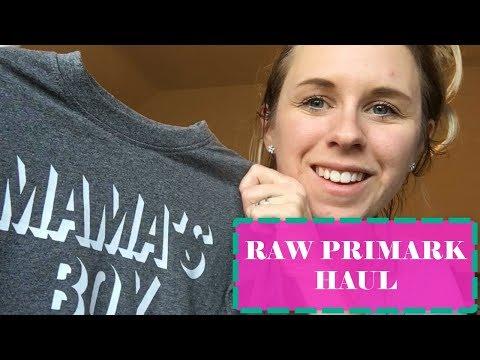 RAW PRIMARK HAUL WITH KIDS | MUM PRIMARK HAUL | MUM / MOM LIFE